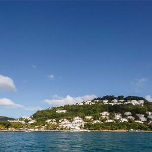 Windjammer Landing Villa Beach resort - Luxury Honeymoon St Lucia - hotel exterior