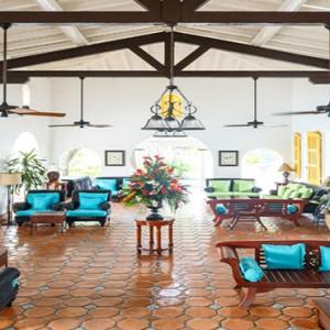 Windjammer Landing Villa Beach resort - Luxury Honeymoon St Lucia - lower lobby