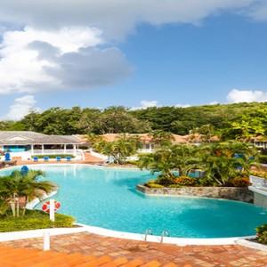 Windjammer Landing Villa Beach resort - Luxury Honeymoon St Lucia - main public area