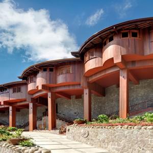hotel exterior - Ladera St Lucia - Luxury St lucia Honeymoon