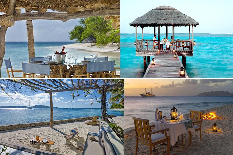 petit st vincent - caribbean blog - dining