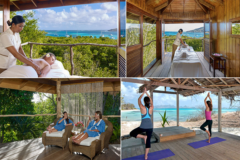 petit st vincent - caribbean blog - spa