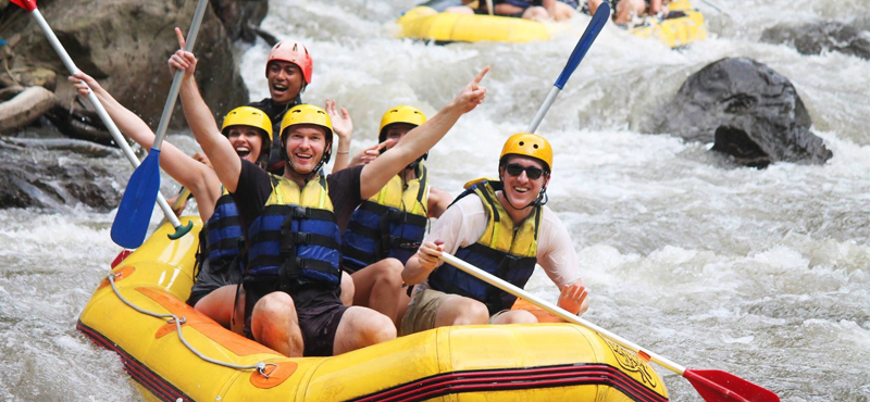 water rafting - kuala lumpur and bali multi centre honeymoon