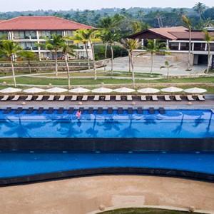 Anantara Peace Haven Tangalle Resort - Luxury Sri Lanka Honeymoon packages - aerial view
