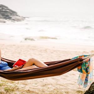 Anantara Peace Haven Tangalle Resort - Luxury Sri Lanka Honeymoon packages - beach hammock