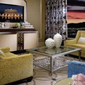 Bellagio Suite 2 - bellagio las vegas - las vegas honeymoon packages