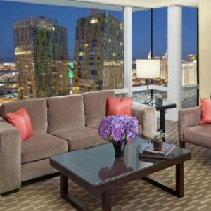 Center Suite Strip View Aria Resort And Casino Luxury Las Vegas Honeymoon Packages