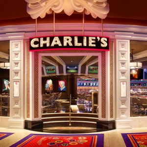 Charlies Bar + Grill - the wynn las vegas - luxury las vegas honeymoon packages