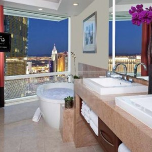 Corner Suite Strip View 2 Aria Resort And Casino Luxury Las Vegas Honeymoon Packages