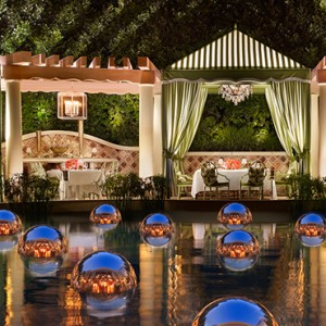 Costa Di Mare - the wynn las vegas - luxury las vegas honeymoon packages