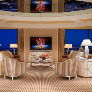 Encore Salon suite - the wynn las vegas - luxury las vegas honeymoon packages