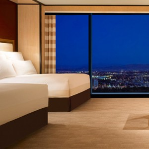 Encore Tower Two Queen Suite 3- the wynn las vegas - luxury las vegas honeymoon packages