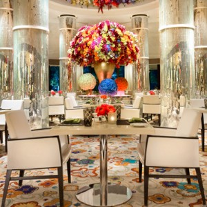 Jardin - the wynn las vegas - luxury las vegas honeymoon packages