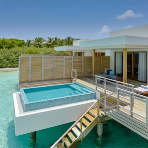 Lagoon Villa with Pool 4- Dhigali Maldives - Luxury Maldives Honeymoon Packages