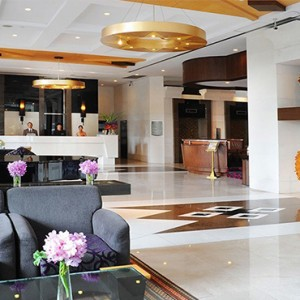 Majestic Grande Sukhumit Hotel - Luxury Thailand Honeymoon packages - reception lobby