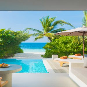 Maldives Honeymoon Packages Dhigali Maldives Beach Villas With Pool