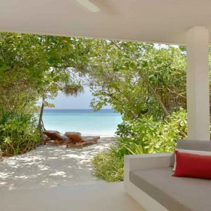 Maldives Honeymoon Packages Dhigali Maldives Deluxe Beach Bungalow4