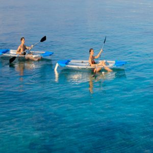 Maldives Honeymoon Packages Dhigali Maldives Paddle Boat