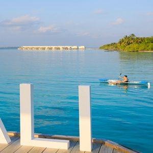 Maldives Honeymoon Packages Dhigali Maldives Paddle Boat1