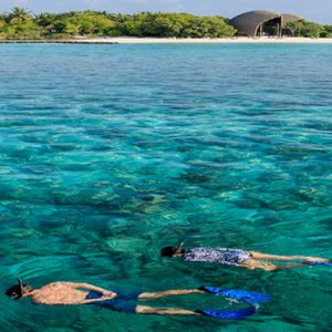 Maldives Honeymoon Packages Dhigali Maldives Snorkelling