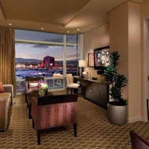 One Bedroom Aria Suite 2 Aria Resort And Casino Luxury Las Vegas Honeymoon Packages