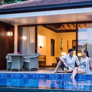 Sri Lanka Honeymoon Packages Anantara Peace Haven Tangalle Resort Pool Villa