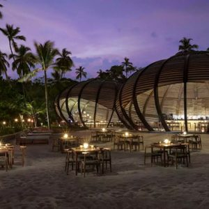 Sri Lanka Honeymoon Packages Anantara Peace Haven Tangalle Resort Dining