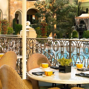 Terrace pointe cafe - the wynn las vegas - luxury las vegas honeymoon packages