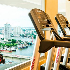 Thailand Honeymoon Packages Avani Riverside Bangkok Hotel Fitness