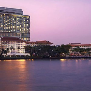 Thailand Honeymoon Packages Avani Riverside Bangkok Hotel Hotel Exterior At Night1