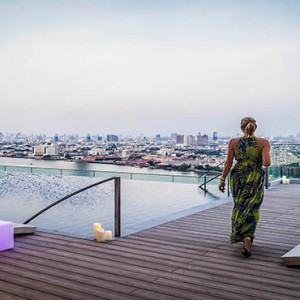 Thailand Honeymoon Packages Avani Riverside Bangkok Hotel Infinity Pool With A View