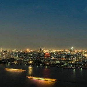 Thailand Honeymoon Packages Avani Riverside Bangkok Hotel Night View