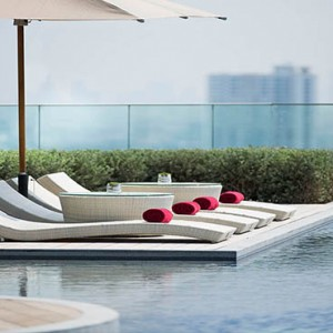 Thailand Honeymoon Packages Avani Riverside Bangkok Hotel Pool Sun Loungers