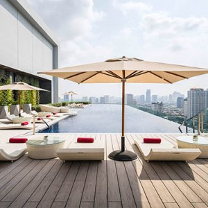 Thailand Honeymoon Packages Avani Riverside Bangkok Hotel Pool1