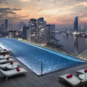 Thailand Honeymoon Packages Avani Riverside Bangkok Hotel Rooftop Pool