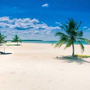 Uga Bay - Luxury Sri Lanka Honeymoon Packages - Beach