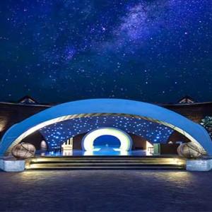 Uga Bay - Luxury Sri Lanka Honeymoon Packages - entrance at night