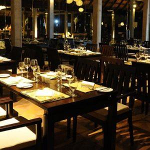 Uga Bay Luxury Sri Lanka Honeymoon Packages Restaurant