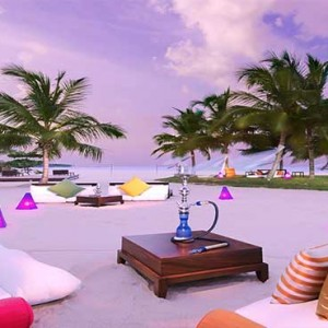 Uga Bay - Luxury Sri Lanka Honeymoon Packages - sheesha on beach
