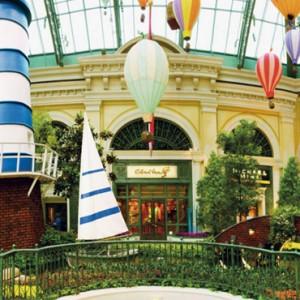 conservatory gardens - bellagio las vegas - las vegas honeymoon packages