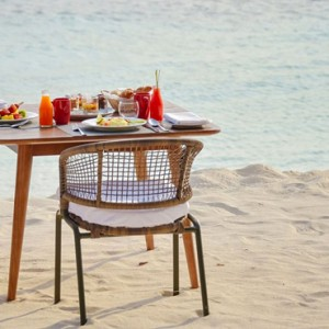 dining - Dhigali Maldives - Luxury Maldives Honeymoon Packages
