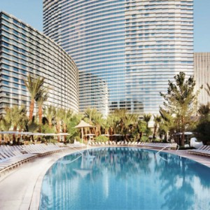 exterior - Aria resort and casino - luxury las vegas honeymoon packages