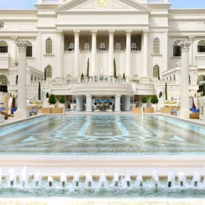 Las Vegas Honeymoon Packages Nobu Hotel Caesars Palace Las Vegas Pool