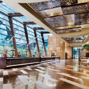 lobby - Aria resort and casino - luxury las vegas honeymoon packages