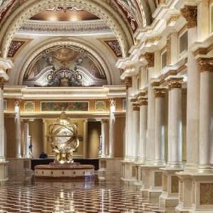 lobby - The Venetian Las Vegas - Luxury Las Vegas Honeymoon Packages