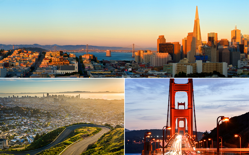 san francisco honeymoon - Top honeymoon destinations in America