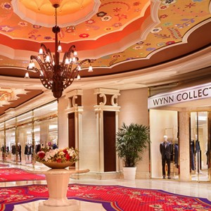 shopping - the wynn las vegas - luxury las vegas honeymoon packages