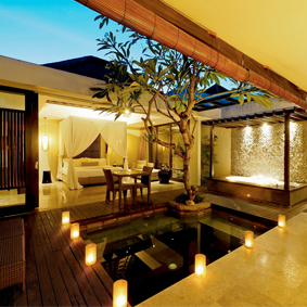 the amala seminyak - singapore and bali multi centre honeymoon package