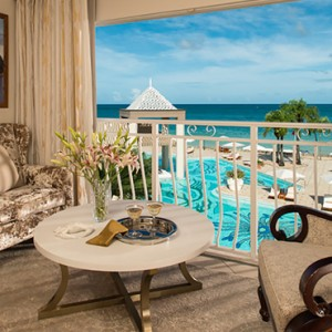 Honeymoon Luxury Oceanview Room - sandals regency la toc - luxury st lucia honeymoons