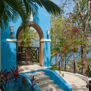 Piton Oceanview Two Story Butler Veranda Suite - sandals regency la toc - luxury st lucia honeymoons